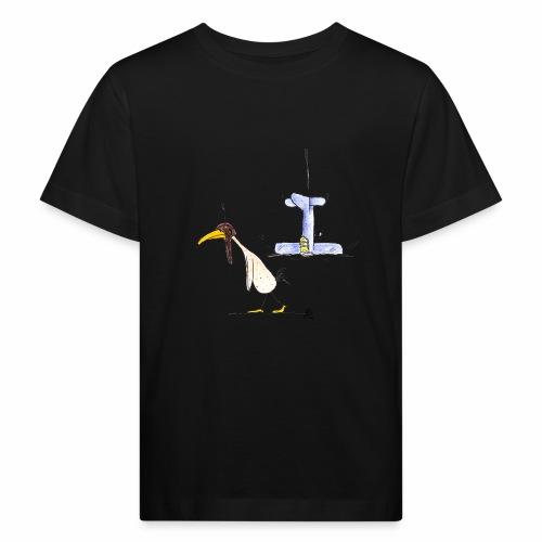 cartoon_Kleimdesign_abstu - Kinder Bio-T-Shirt