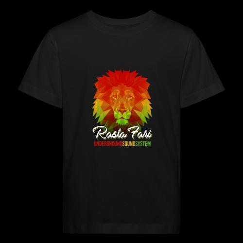 Rasta Fari LION - Kinder Bio-T-Shirt
