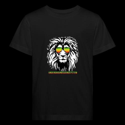 RASTA REGGAE LION - Kinder Bio-T-Shirt