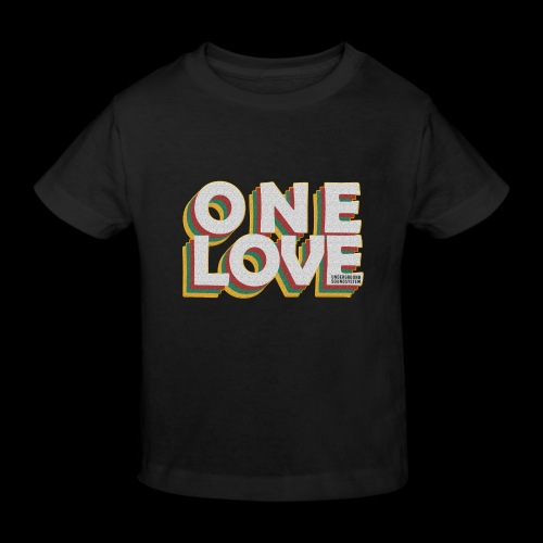 ONE LOVE - Kinder Bio-T-Shirt