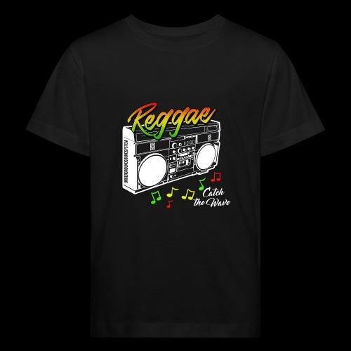 Reggae - Catch the Wave - Kinder Bio-T-Shirt