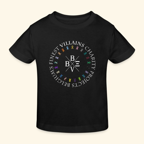 BVBE Charity Projects x factor white Charlemagne T - Kids' Organic T-Shirt