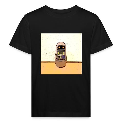Lustiges Scifi Robot T-Shirt retro Geschenkidee - Kinder Bio-T-Shirt