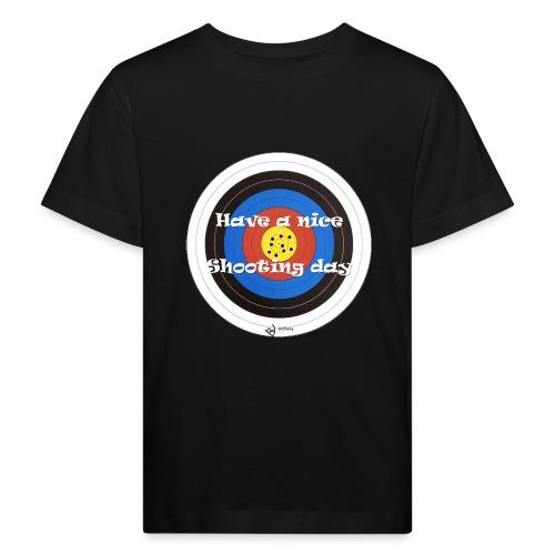 Shooting day - Kinder Bio-T-Shirt