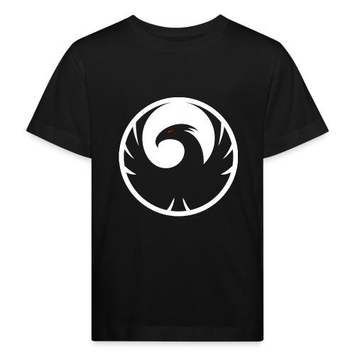 Phönix Logo Schattierung Phoenix weis white rund - Kinder Bio-T-Shirt