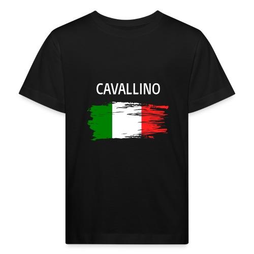 Cavallino Fanprodukte - Kinder Bio-T-Shirt