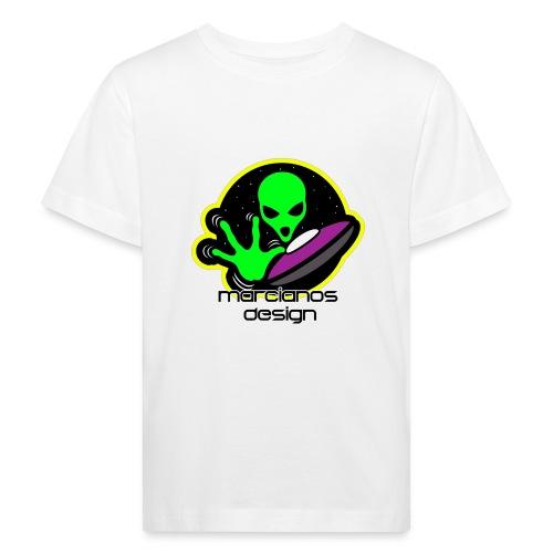 Logo Marcianos - Camiseta ecológica niño