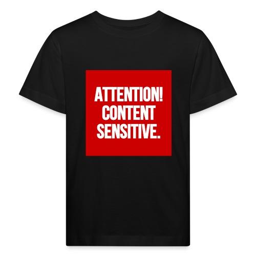 Attention! Content sensitive. - Kinder Bio-T-Shirt