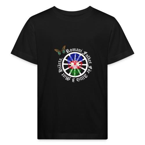 LennyhjulRomaniFolketivitfjerliskulle - Ekologisk T-shirt barn