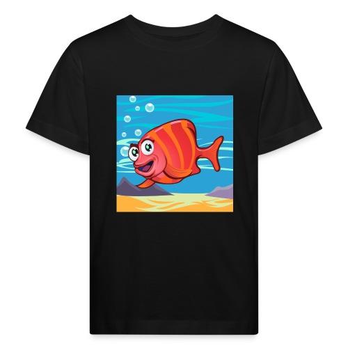 Fish Cartoon - Maglietta ecologica per bambini