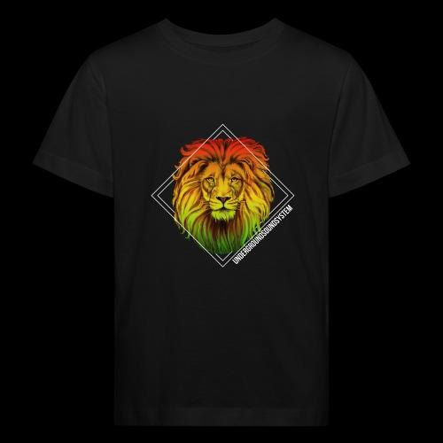 LION HEAD - UNDERGROUNDSOUNDSYSTEM - Kinder Bio-T-Shirt