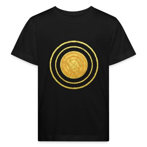 Glückssymbol Sonne - positive Schwingung - Spirale - Kinder Bio-T-Shirt