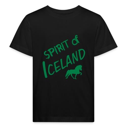 4gaits ruecken - Kinder Bio-T-Shirt