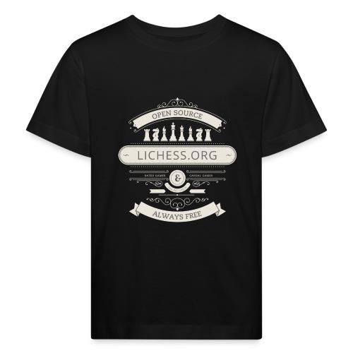 Vintage Lichess - Kids' Organic T-Shirt