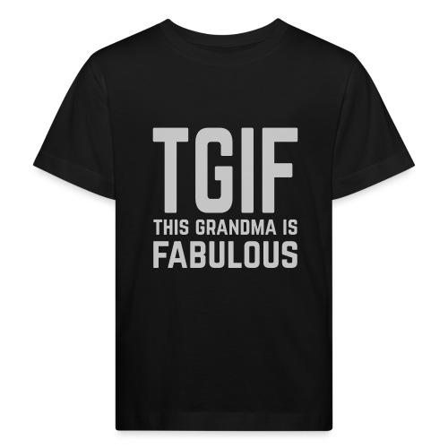To jest wspaniała babcia - Ekologiczna koszulka dziecięca
