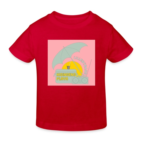 Hisingens playa pink - Ekologisk T-shirt barn