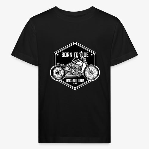 Born to Ride - Vintage motorbike - Maglietta ecologica per bambini