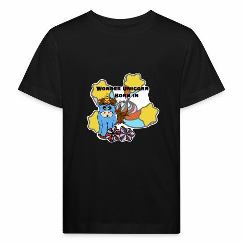 Une merveilleuse licorne est née (pour garcon) - T-shirt bio Enfant