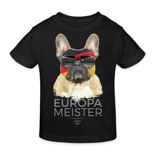 Europameister Deutschland - Kinder Bio-T-Shirt