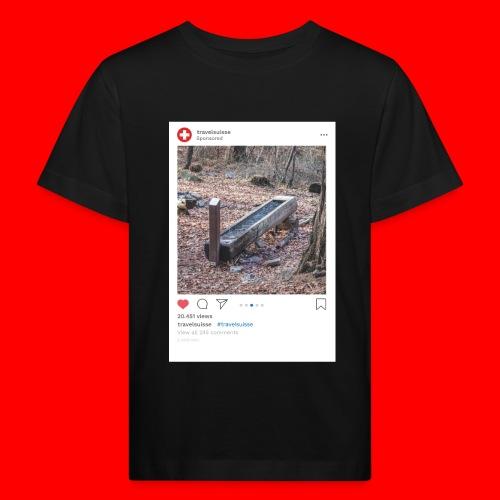 travelsuisse - Chur Fuerstenwald 4 - Kinder Bio-T-Shirt