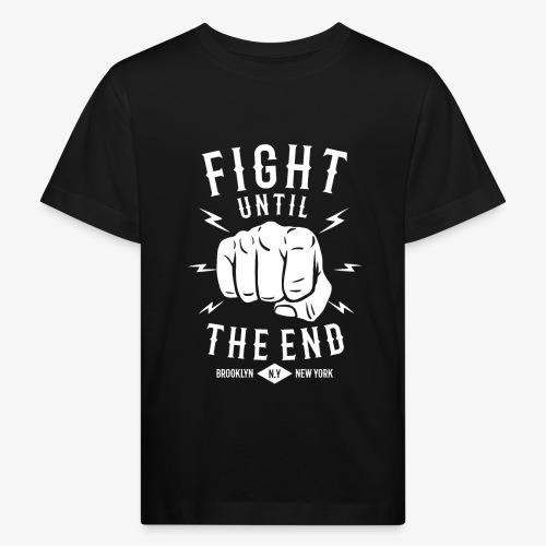 Se battre jusqu'à la fin - T-shirt bio Enfant