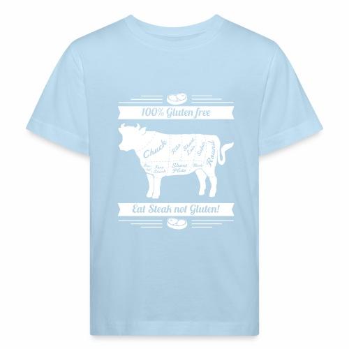 Lustiges Design für Fleisch-Fans - Kinder Bio-T-Shirt