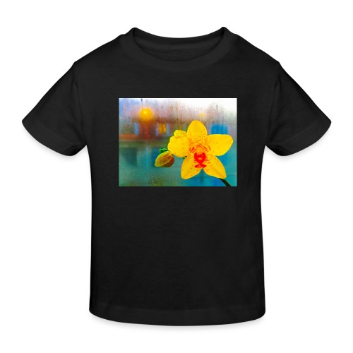 The orchid in the window - Organic børne shirt