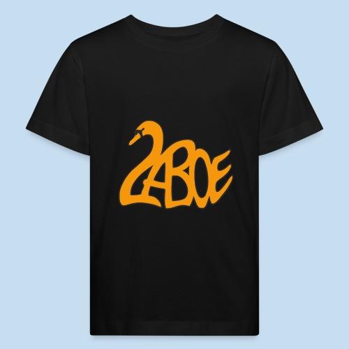 Laboe Schwan orange - Kinder Bio-T-Shirt