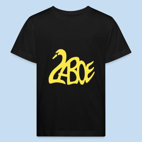 Laboe Schwan gelb - Kinder Bio-T-Shirt