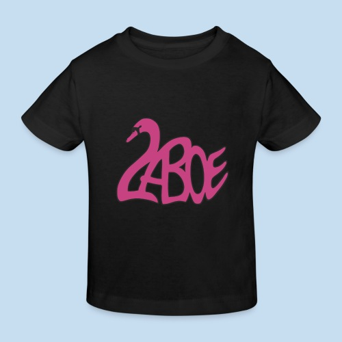 Laboe Schwan pink - Kinder Bio-T-Shirt