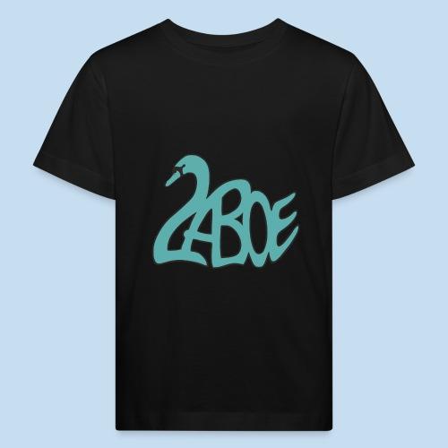 Laboe Schwan türkis - Kinder Bio-T-Shirt