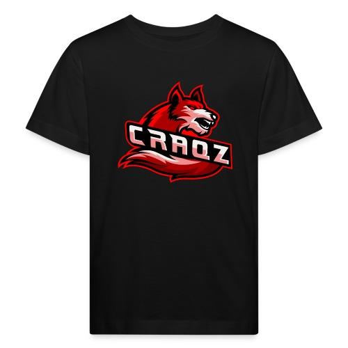 Craqz logo - Organic børne shirt