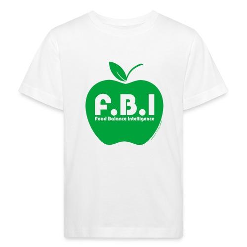 F.B.I - Food Balance Intelligence Logo - Kinder Bio-T-Shirt