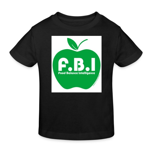 F.B.I - Food Balance Intelligence Logo - Kinder Bio-T-Shirt