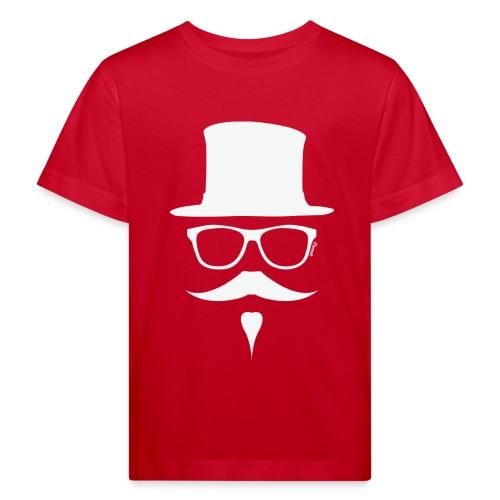 Moustachu White (H) - T-shirt bio Enfant