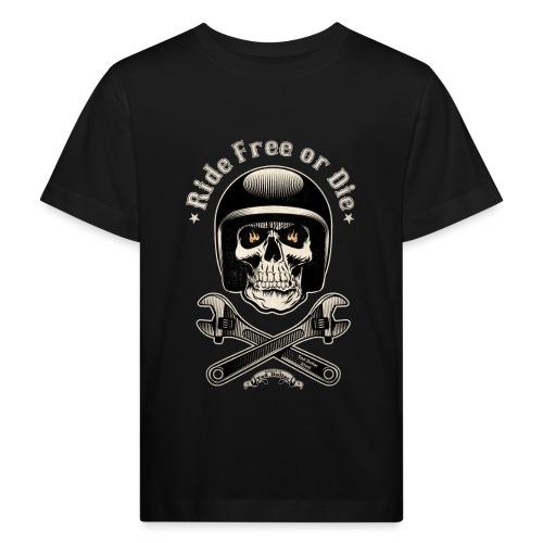 Ride free or die vintage - T-shirt bio Enfant