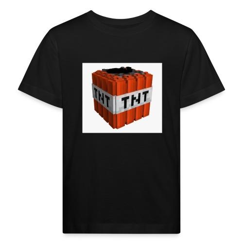 tnt block - Kinderen Bio-T-shirt