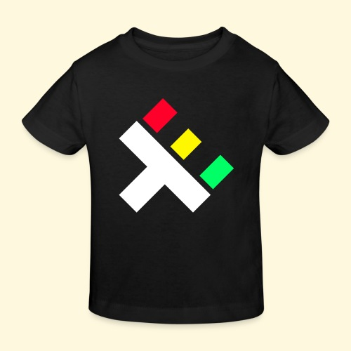 Clan Logo - Rasta - Kids' Organic T-Shirt