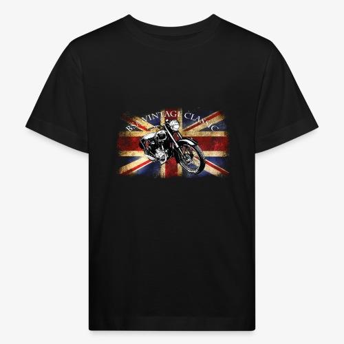 Vintage famous Brittish BSA motorcycle icon - Kids' Organic T-Shirt