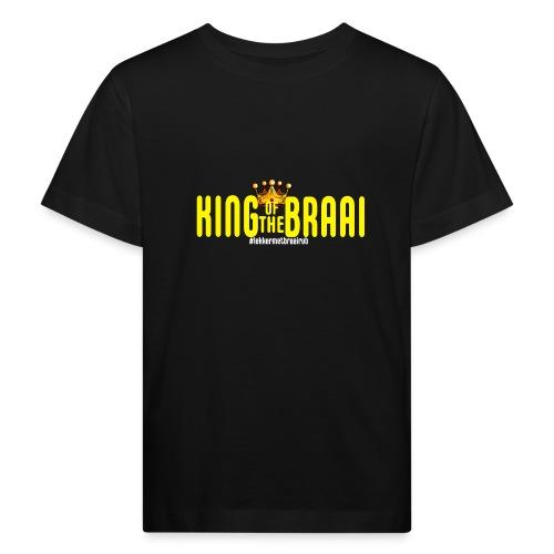 KING OF THE BRAAI - Kinderen Bio-T-shirt