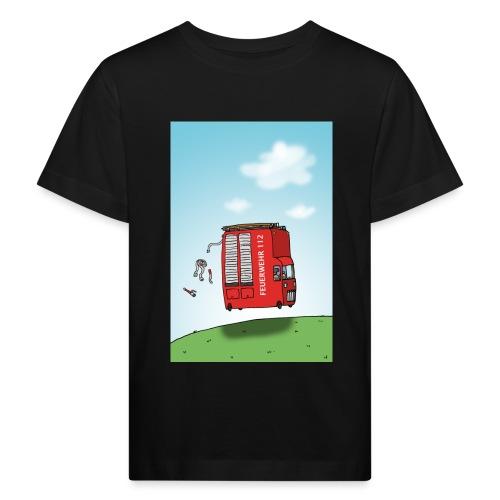 Feuerwehrwagen - Kinder Bio-T-Shirt