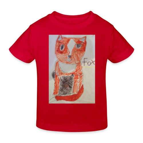 fox - Kids' Organic T-Shirt
