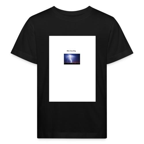 Blitz Einschlag - Kinder Bio-T-Shirt