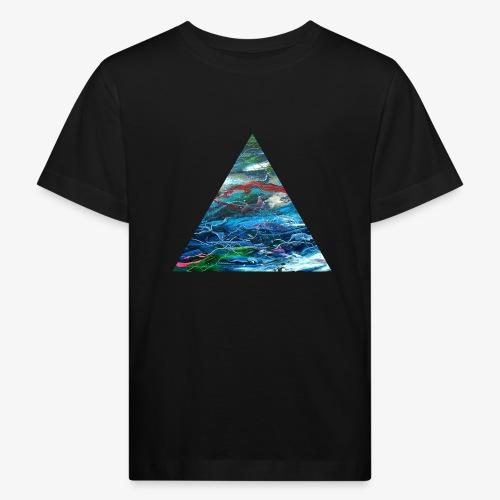 Trójkąt galaktyki - Ekologiczna koszulka dziecięca