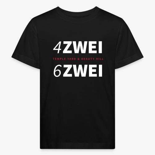 4ZWEI 6ZWEI BERLIN // Templeyard & Beautyhill - Kinder Bio-T-Shirt