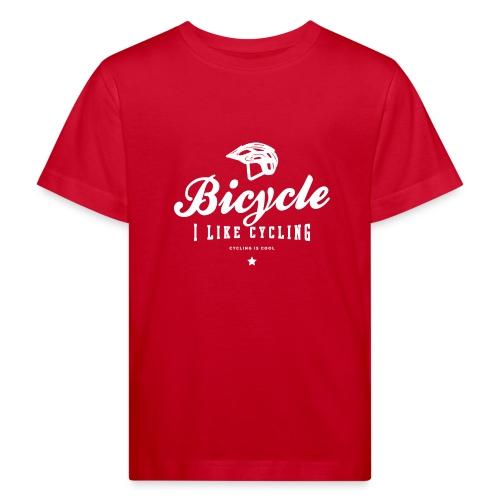bicycle - Ekologiczna koszulka dziecięca