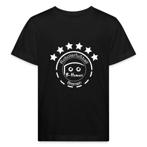 B-Human Roboterfußball Logo - Kinder Bio-T-Shirt