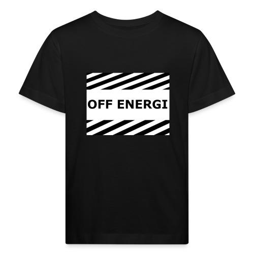 OFF ENERGI officiel merch - Ekologisk T-shirt barn