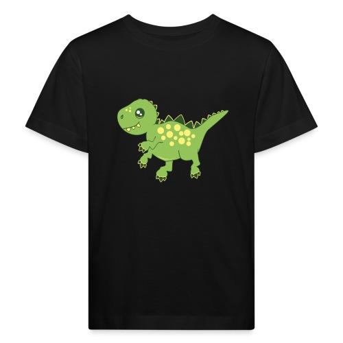 Dino voraz - Camiseta ecológica niño