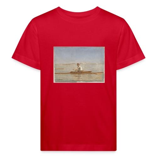 John Biglin in a Single Scull - Thomas Eakins - T-shirt bio Enfant